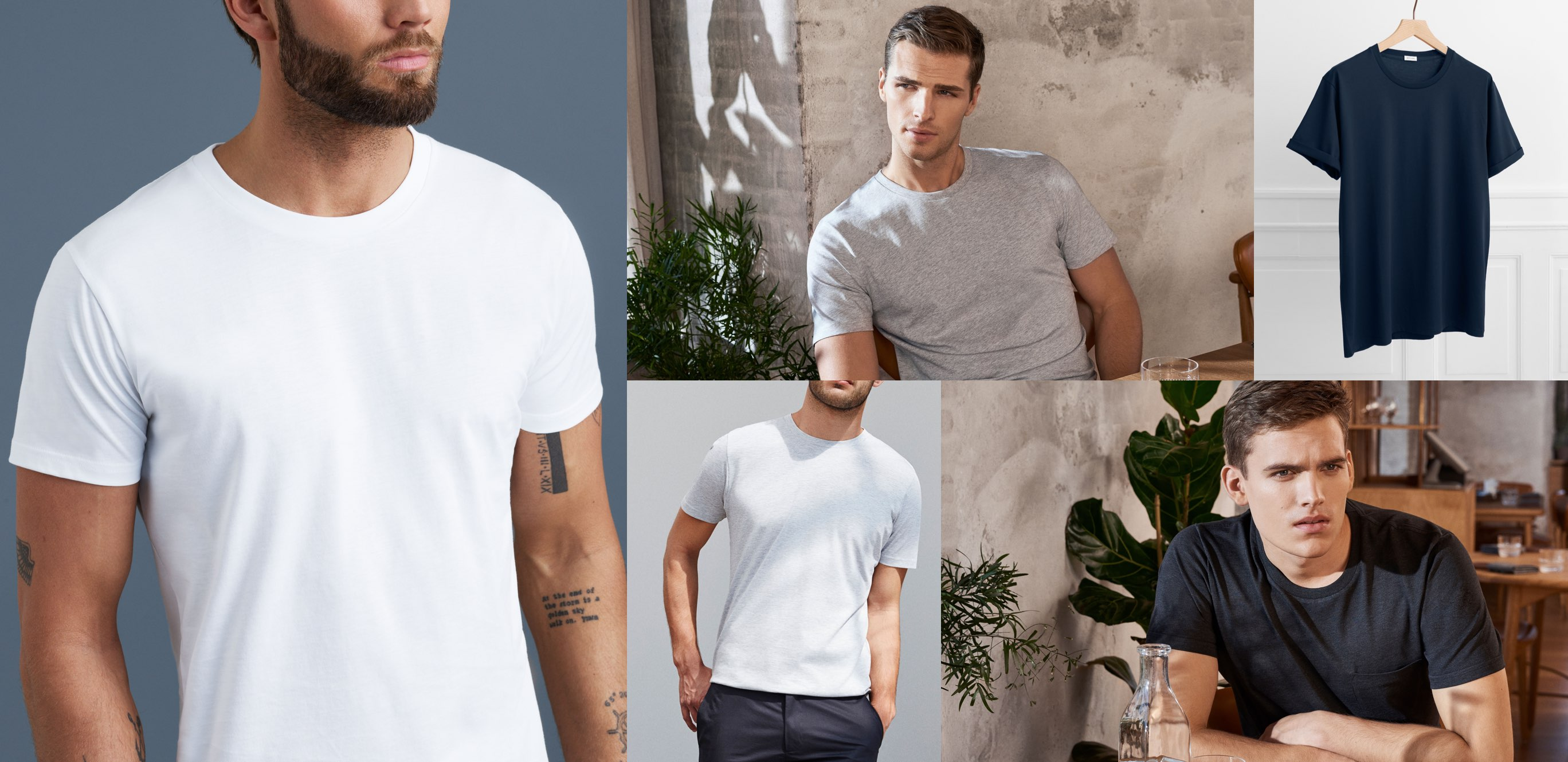Get Men's Fitted T-shirts Regularly at Your Door